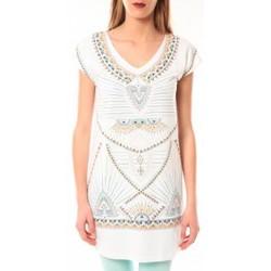 Clothing Women short-sleeved t-shirts Little Marcel Robe E15WDRE0318 Riolo Blanc White