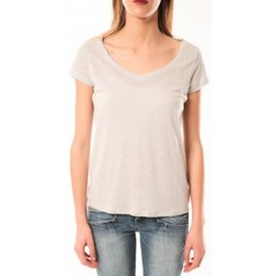Clothing Women short-sleeved t-shirts Little Marcel T-Shirt Talin E15FTSS0116 Gris Moyen Grey