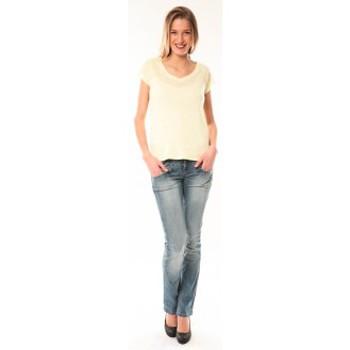 Clothing Women short-sleeved t-shirts Little Marcel T-Shirt Talin E15FTSS0116 Jaune Yellow