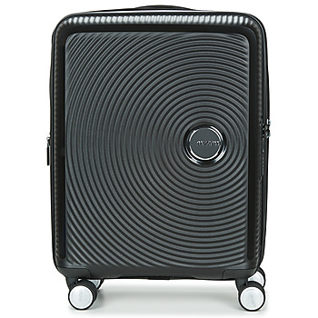 Bags Hard Suitcases American Tourister SOUNDBOX 55CM 4R Black