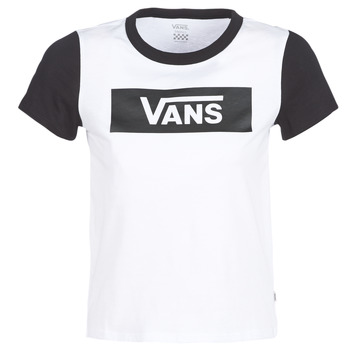 Clothing Women Short-sleeved t-shirts Vans V TANGLE RANGE RINGER White