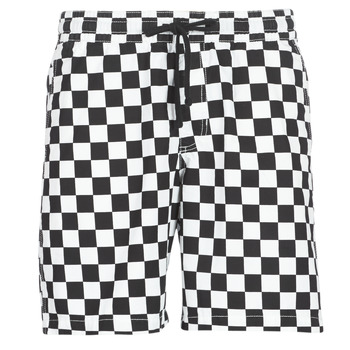 Clothing Men Shorts / Bermudas Vans RANGE SHORT 18 Black / White