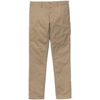 Clothing Men chinos Carhartt WIP Sid Pant Chinos Tan