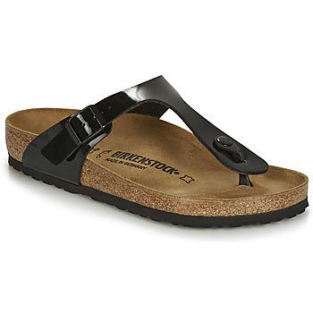 Shoes Women Sandals Birkenstock Gizeh  black