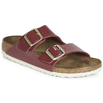 Shoes Women Mules Birkenstock ARIZONA Red / Patent