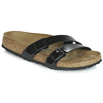 Shoes Women Sandals Birkenstock YAO BALANCE  black / Patent
