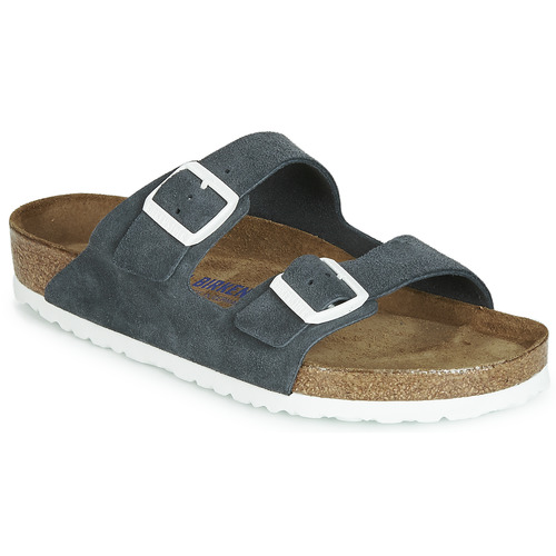 Shoes Mules Birkenstock ARIZONA SFB Dark / Grey