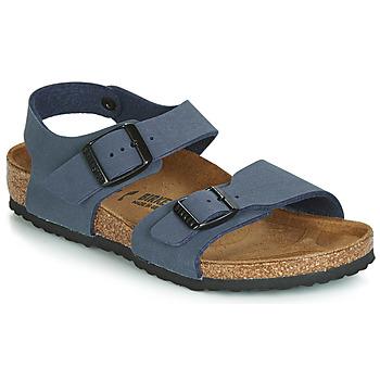 Shoes Boy Sandals Birkenstock NEW YORK Navy