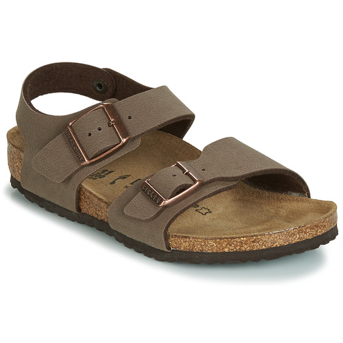 Shoes Boy Sandals Birkenstock NEW YORK Brown