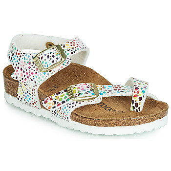 Shoes Girl Sandals Birkenstock TAORMINA White