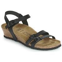 Shoes Women Sandals Birkenstock LANA  black