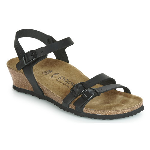 Shoes Women Sandals Birkenstock LANA  black