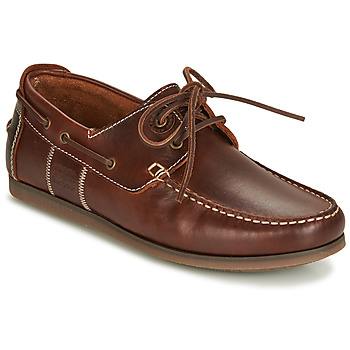 Shoes Men Boat shoes Barbour CAPSTAN Brown