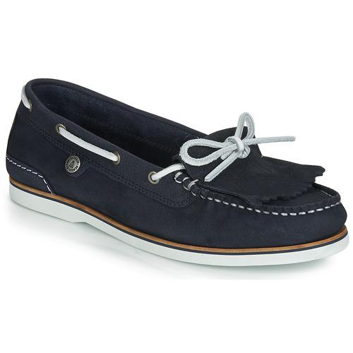 Shoes Women Boat shoes Barbour Ellen Boat Shoe Navy