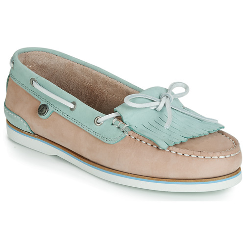 Shoes Women Boat shoes Barbour Ellen Boat Shoe Lt / Pink / Lt / Blue