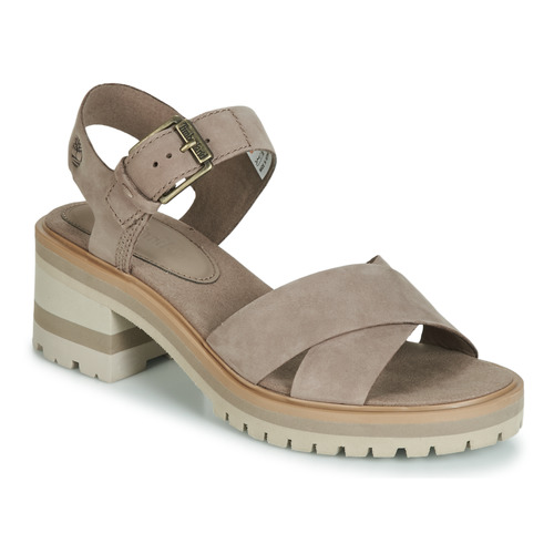 Shoes Women Sandals Timberland Violet Marsh Cross Band Grey
