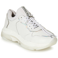 Shoes Women Low top trainers Bronx BAISLEY White / Silver