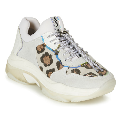 b4e841952ba71 Bronx BAISLEY White   Leopard - Free delivery with Spartoo UK ...