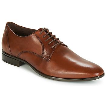 Shoes Men Derby Shoes Carlington EMRONED Cognac