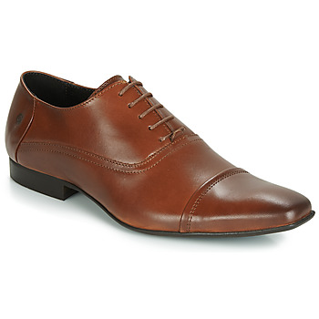 Shoes Men Brogues Carlington ETIPIQ Cognac