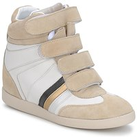 Shoes Women Low top trainers Serafini TUILLERIE White beige blue