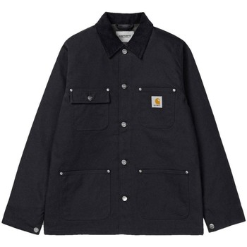 Clothing Men Jackets Carhartt WIP Michigan Lined Chore Coat Black