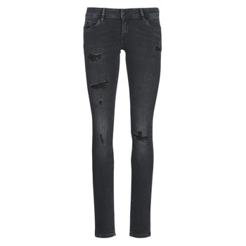 Clothing Women slim jeans Kaporal LOKA Black