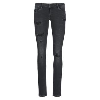 Clothing Women Slim jeans Kaporal LOKA Black