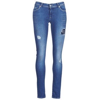 Clothing Women Slim jeans Kaporal LOKA Blue / Medium