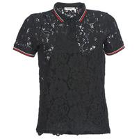 Clothing Women short-sleeved polo shirts Kaporal BRIKS Black