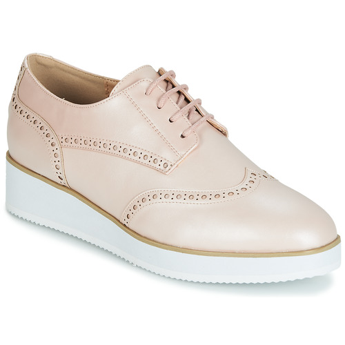 Shoes Women Derby Shoes Moony Mood INDO Pink / Mother-of-pearl