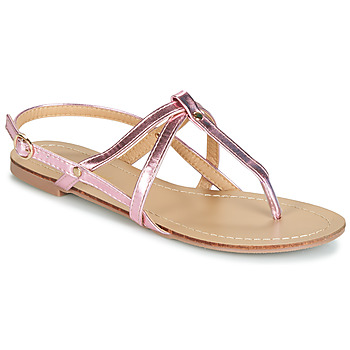 Shoes Women Sandals Moony Mood JEKERINE Pink / Metal