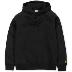 Clothing Men sweaters Carhartt WIP Chase Pullover Hoodie Black