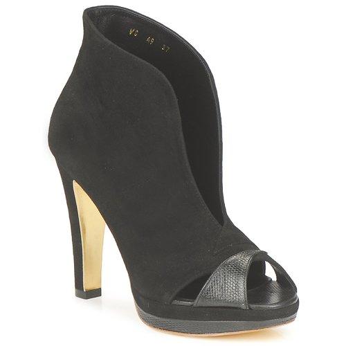 Shoes Women Shoe boots Gaspard Yurkievich A9-VAR7 Black