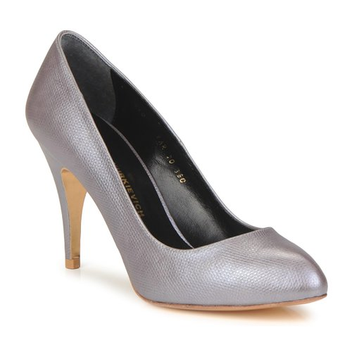 Shoes Women Heels Gaspard Yurkievich E10-VAR6 Purple / Pale / Metallic