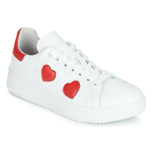 Shoes Women Low top trainers Yurban JIBOUILLE White