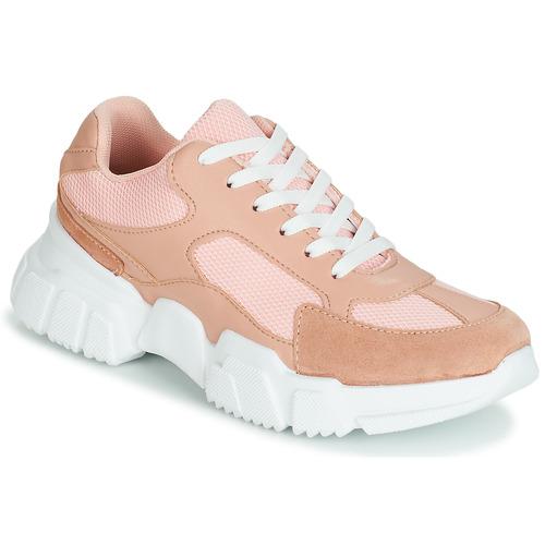 Shoes Women Low top trainers Yurban JILIBELLE Pink