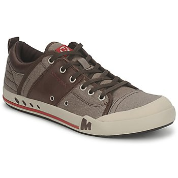 Shoes Men Low top trainers Merrell RANT Brown