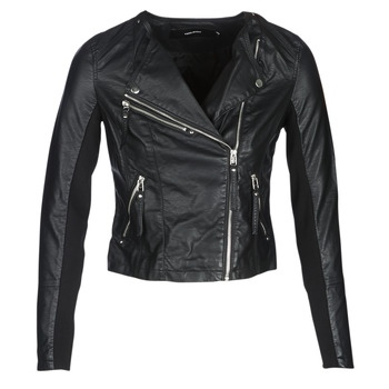 Clothing Women Leather jackets / Imitation leather Vero Moda VMRIA FAV Black