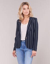 Clothing Women Jackets / Blazers Vero Moda VMANNA White / Marine