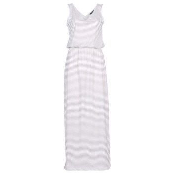 Clothing Women Long Dresses Vero Moda VMREBECCA White / Marine