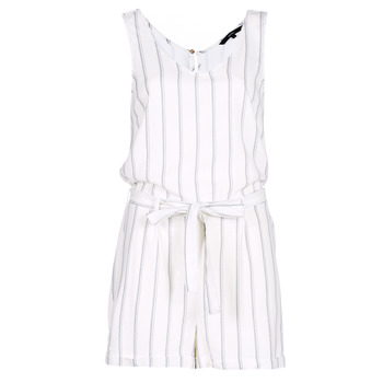 Clothing Women Jumpsuits / Dungarees Vero Moda VMANNA White / Blue