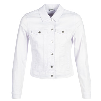 Clothing Women Denim jackets Vero Moda VMHOT SOYA White