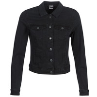 Clothing Women Denim jackets Vero Moda VMHOT SOYA Black