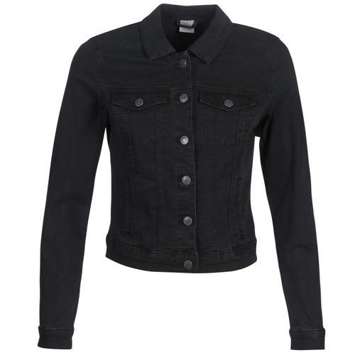 Clothing Women Denim jackets Vero Moda VMHOT SOYA Black