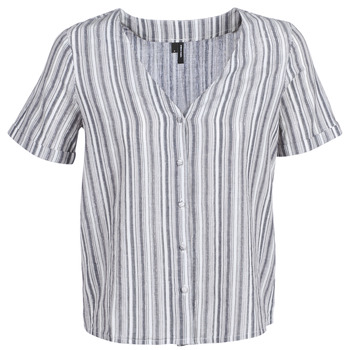 Clothing Women Tops / Blouses Vero Moda VMESTHER Marine / White