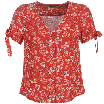 Clothing Women Tops / Blouses Vero Moda VMLOTUS Red