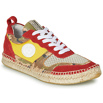 Shoes Women Low top trainers Pataugas MARCIA Yellow / Red