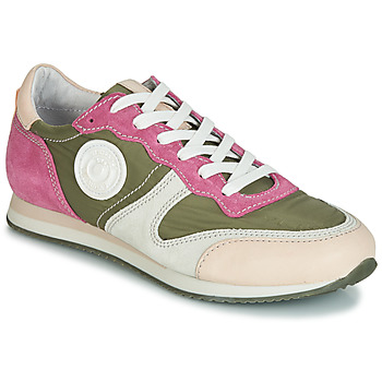 Shoes Women Low top trainers Pataugas IDOL/MIX Kaki / Purple / Beige