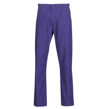 Clothing Men 5-pocket trousers Benetton TIMOTI PANTS Blue / Purple